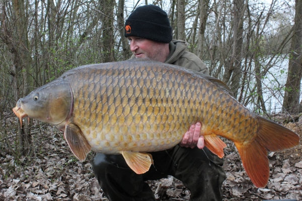 Dave Smedley: 54lb 8oz Lake 1