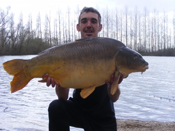 Chris Moore: 40lb 4oz Lake 3