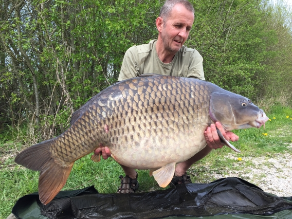 Andy Hindle: 53lbs