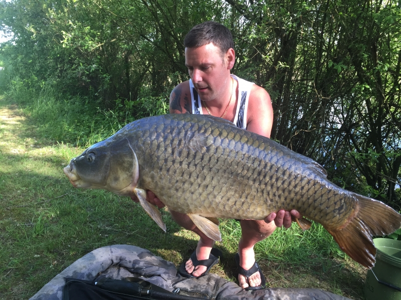 One of 16 fish for Alan Brook