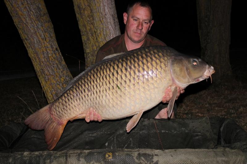 Shaun Claydon: 43lb