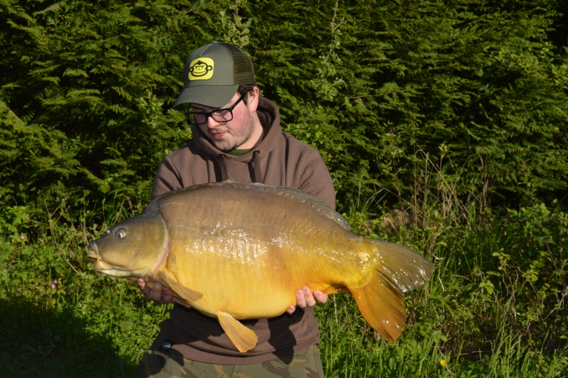 Adam Bentley: 34lb