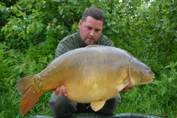 Ryan Williams: 46lb