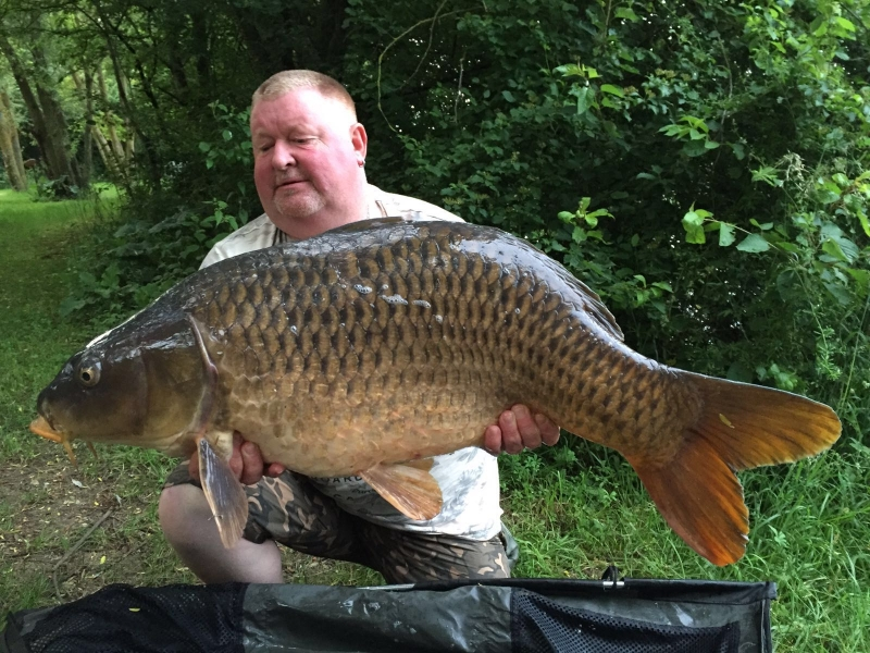 Dave Stainforth: 45lb