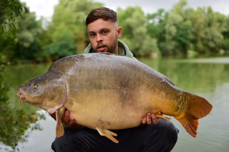 Connor Hitching: 55lb