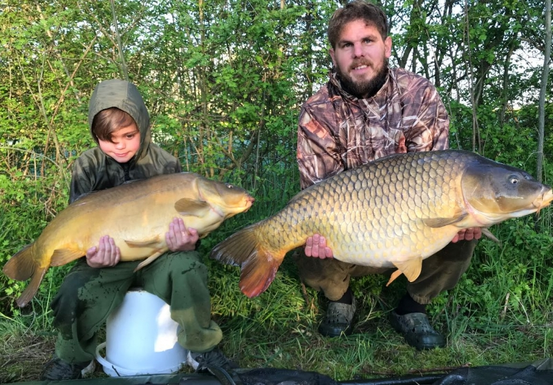 Billy Driver 24lb and William Driver 30lb Lk1