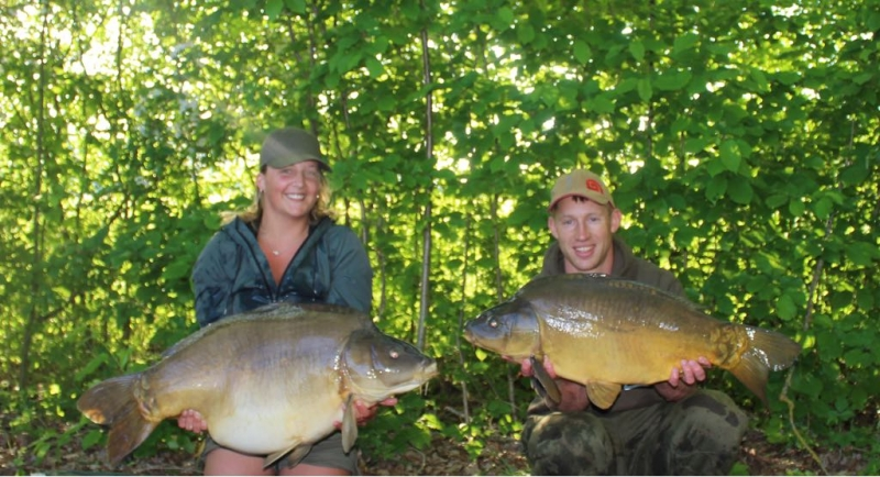 Jemma and Ben 42lb and 20lb