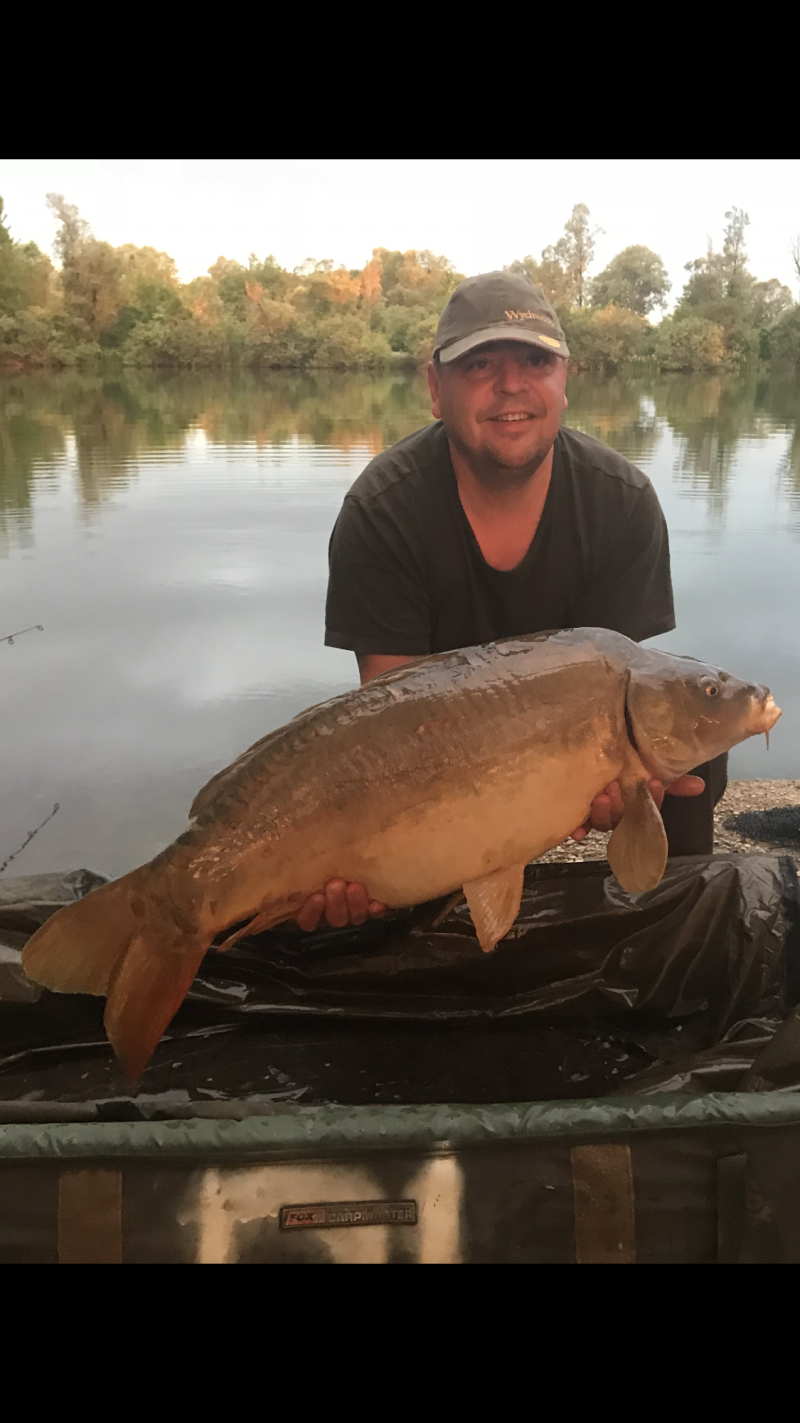 Darren Brown 28lb mirror