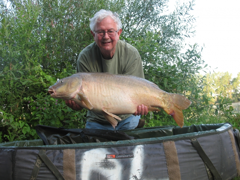 Keith Fisher 29lb mirror