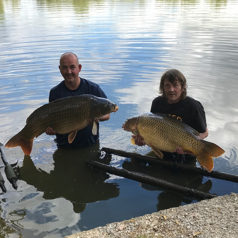 Stefan Marr 43lb Keith Smith 36lb