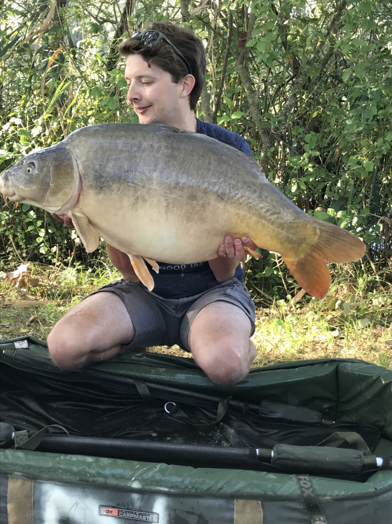 George Heffernan 42lb mirror