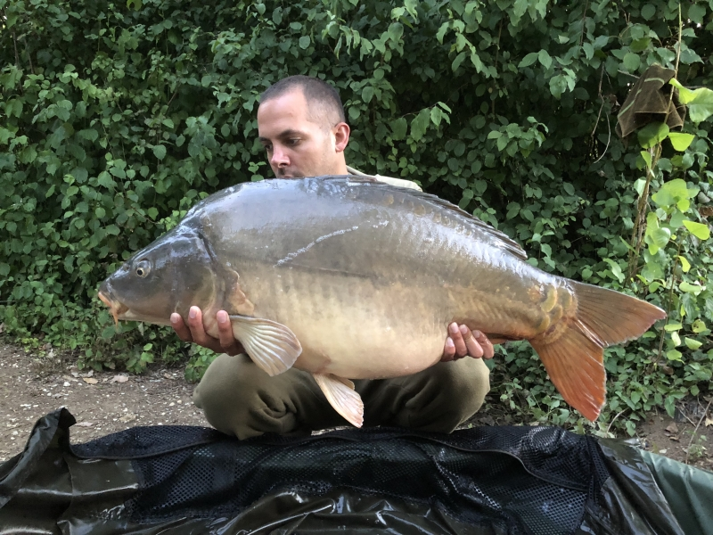 Dave Digby 35lb mirror