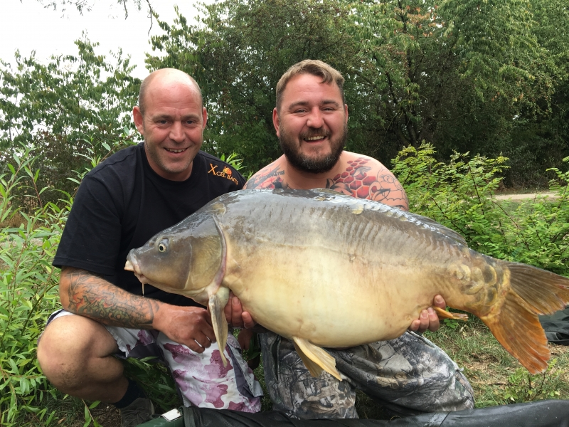 Simon Greenwood 44lb mirror