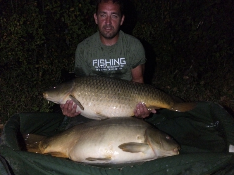Terry Brazier 49lb and 42lb