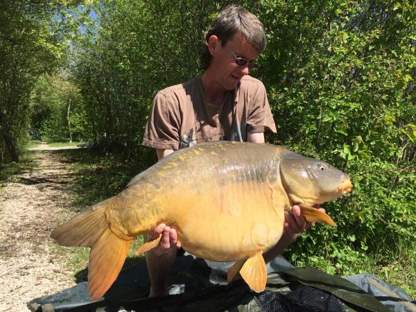 Stuart Hindle: 45lb