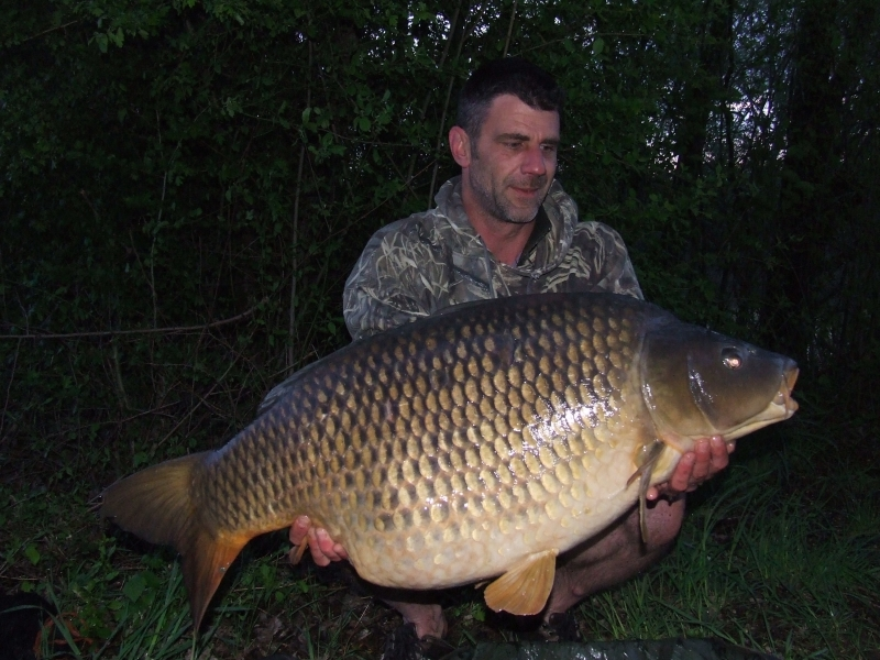 Steve Williams: 54lb 8oz