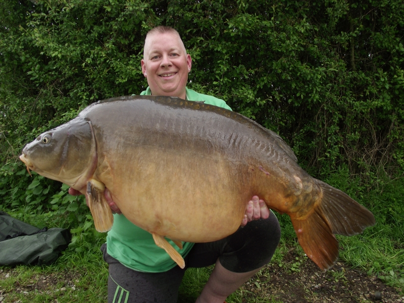 Pete Howells: 53lb 8oz