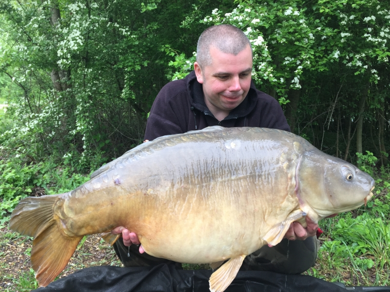 Ollie Williams: 47lb 14oz