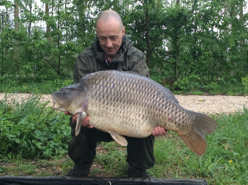 Steve Williams: 43lb