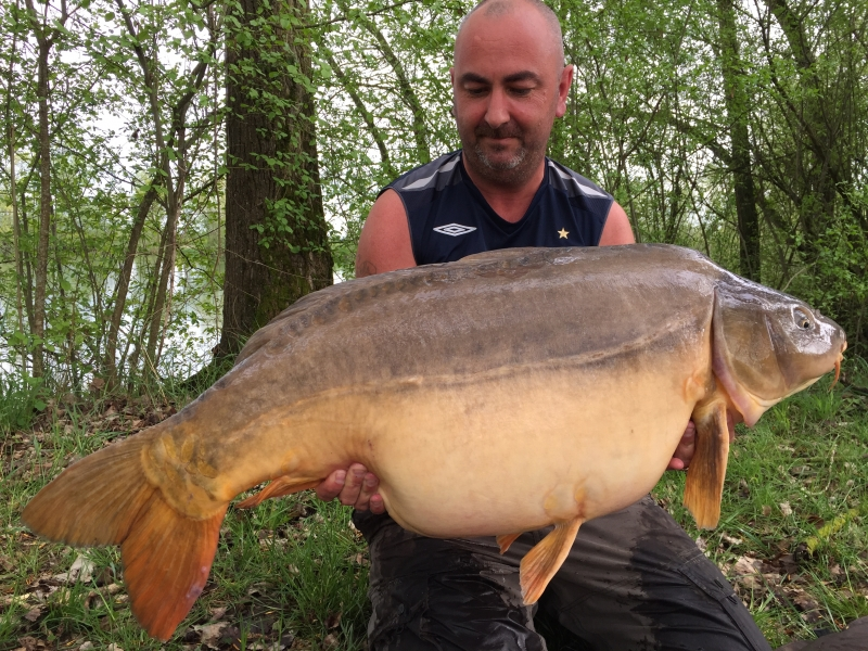 Dave Coogan: 58lb 8oz