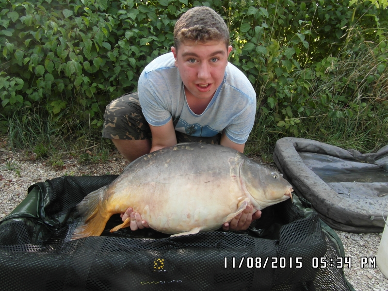 Cameron Tapping: 42lb