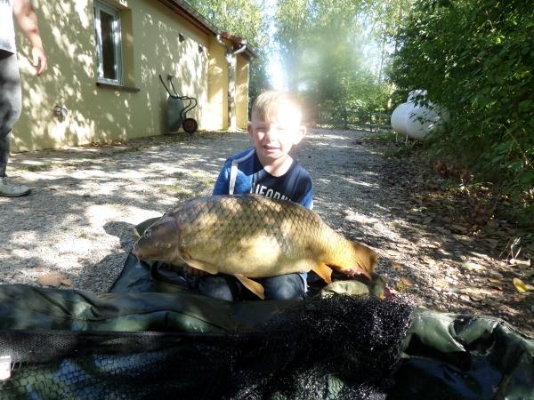 Eight year old Dillon Harper: 41lb