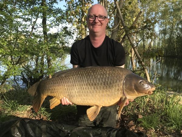 Steve Morgan: 58lb