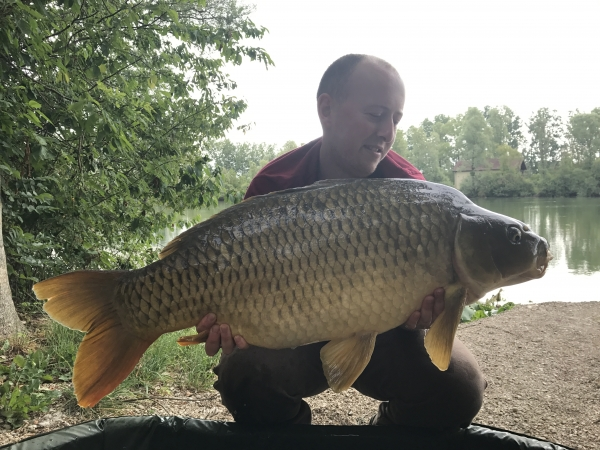 Billy Edghill: 36lb
