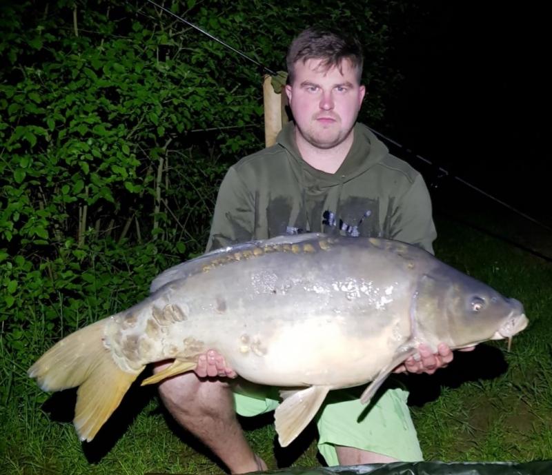 Danny Kilbane 35lb Lake1