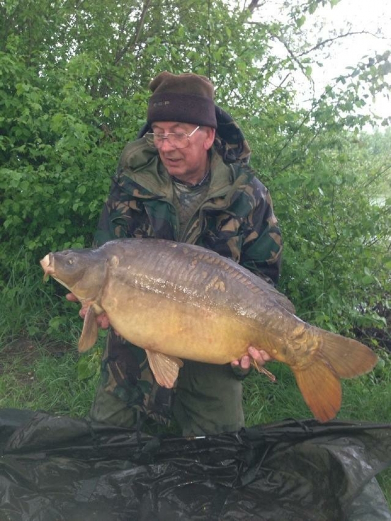 Clifford Mould 28lb4oz