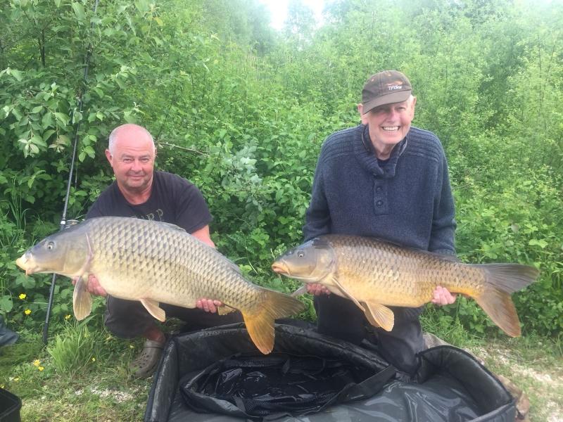 Dave and David Shaw 33lb and 30lb