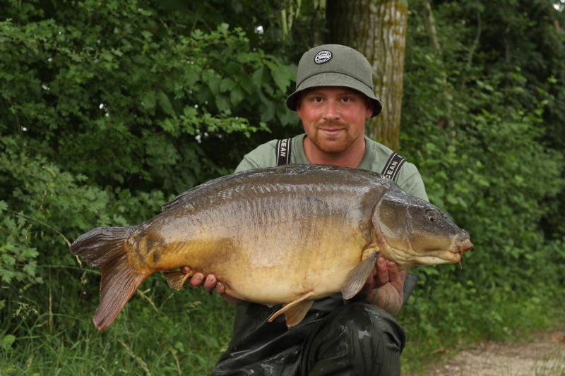Mike Jarvis 40lb mirror