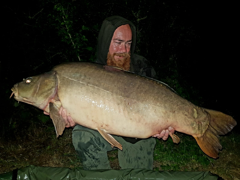 Terry Crouch 43lb mirror