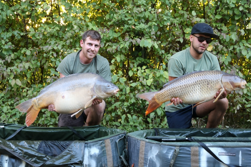 43lb mirror 34lb common Ross and Tom