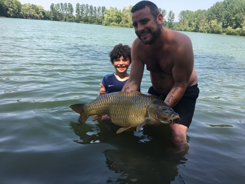 Tommy and Craig Dickson 34lb