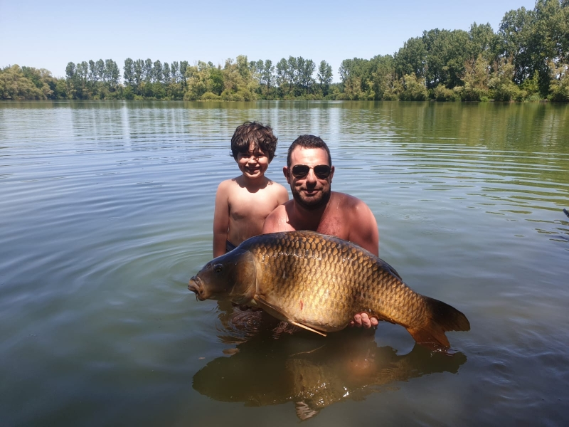 Tommy and Craig Dickson 41lb