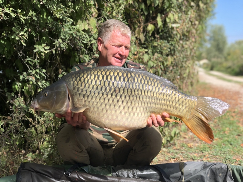 David Butler 34lb 10oz